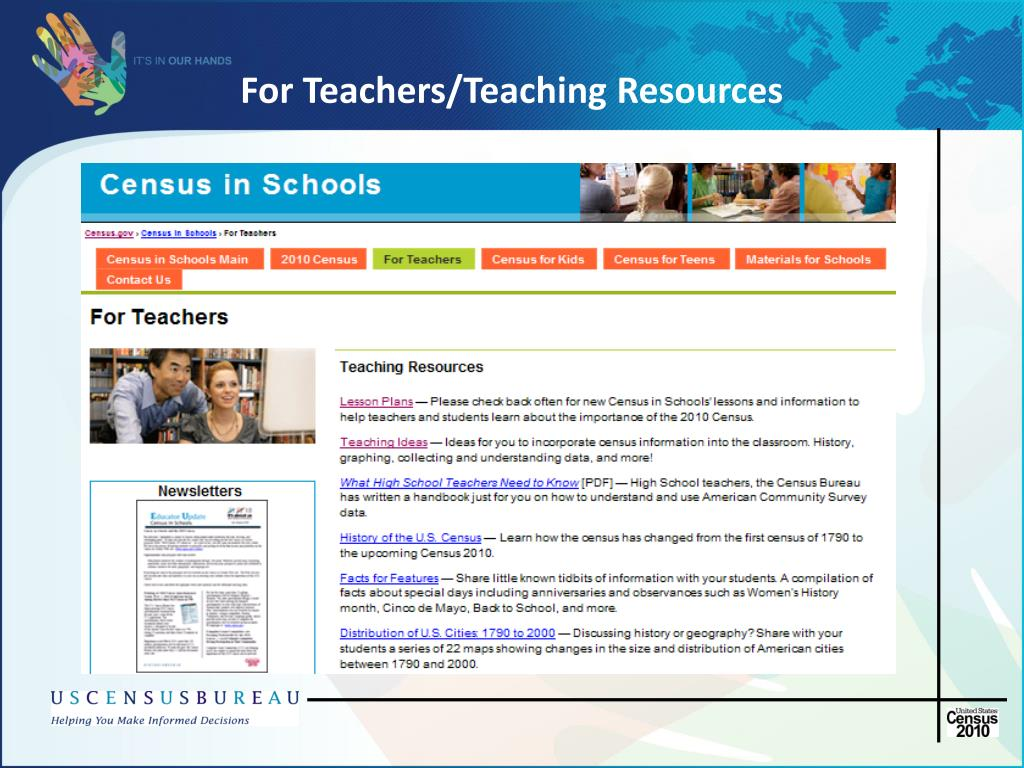 For Teachers/Teaching Resources