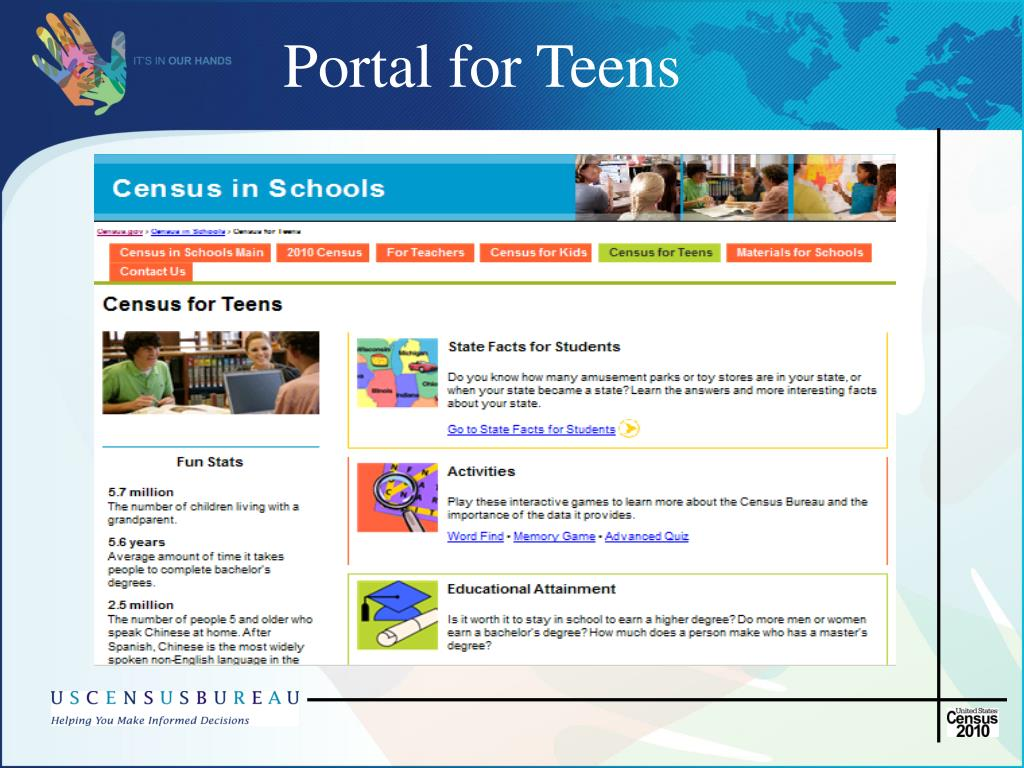 Portal for Teens