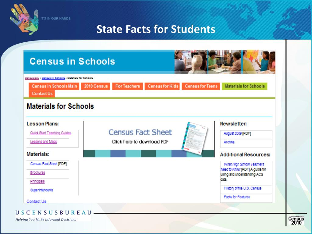 State Facts for Students