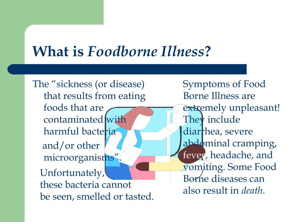 ppt - what is foodborne illness ? powerpoint presentation - id:387767