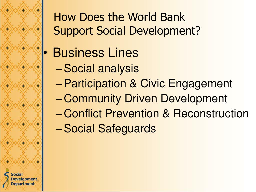 How Does the World Bank