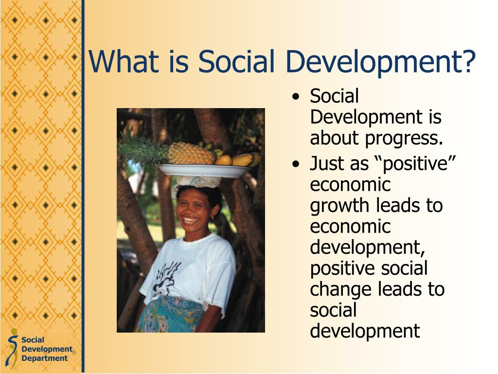 What is Social Development?