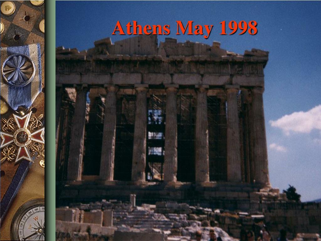 Athens May 1998