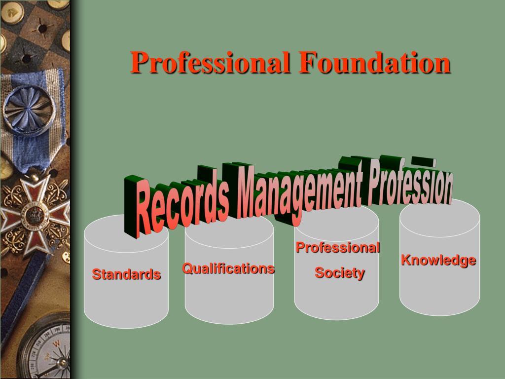 Professional Foundation