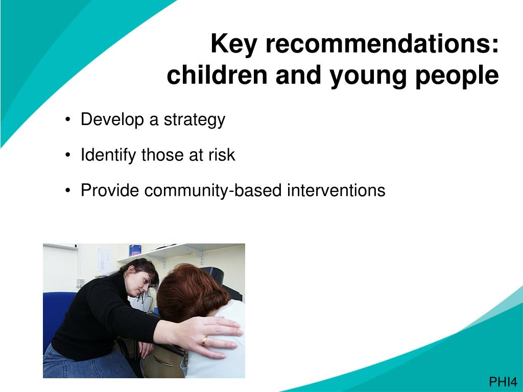 Key recommendations: