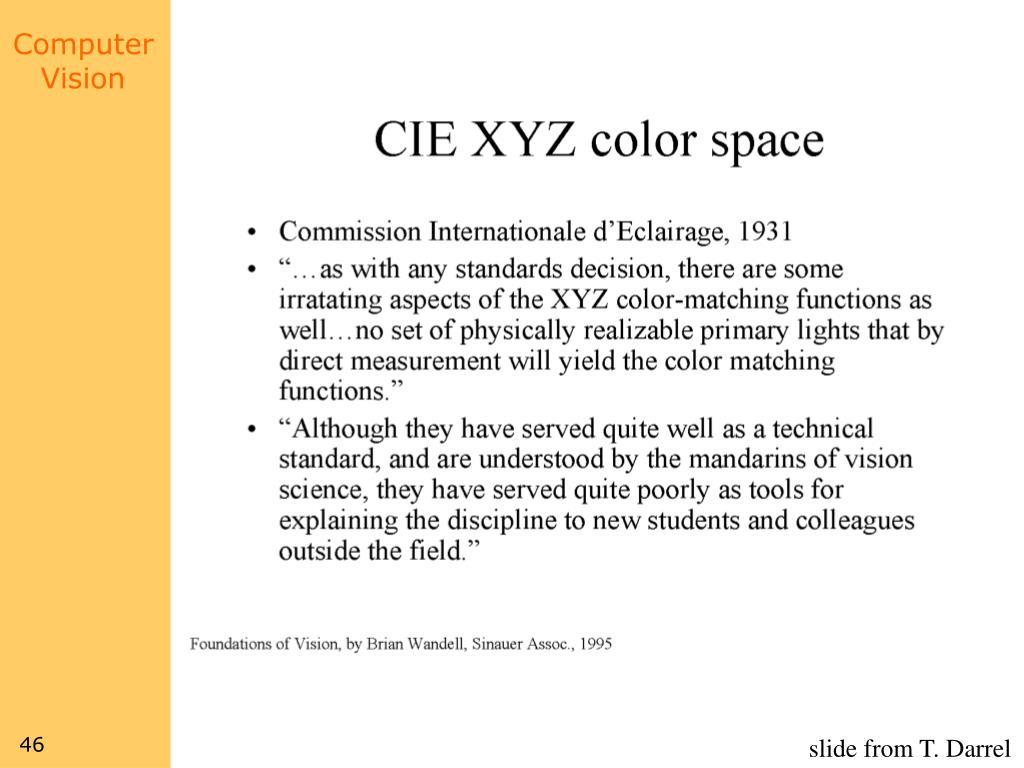 slide from T. Darrel