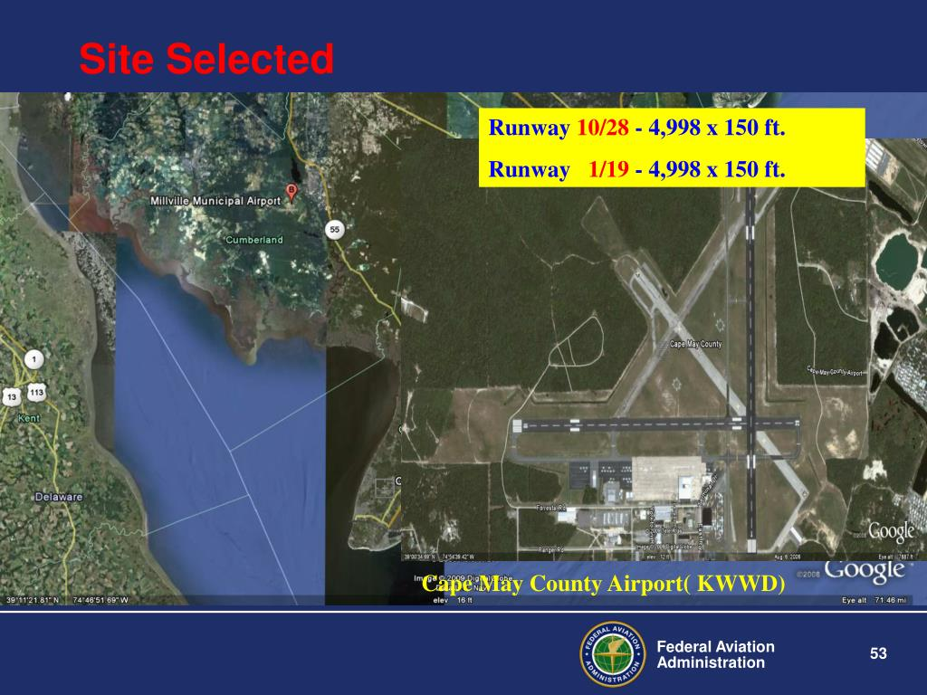 Cape May County Airport( KWWD)