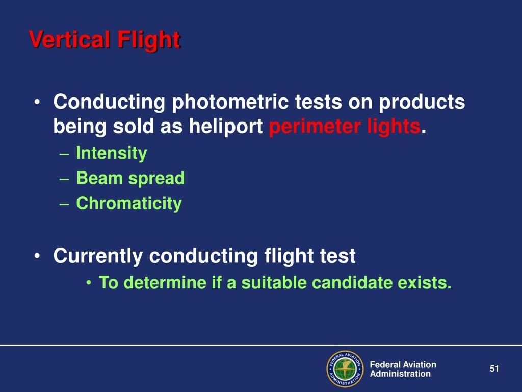 Vertical Flight