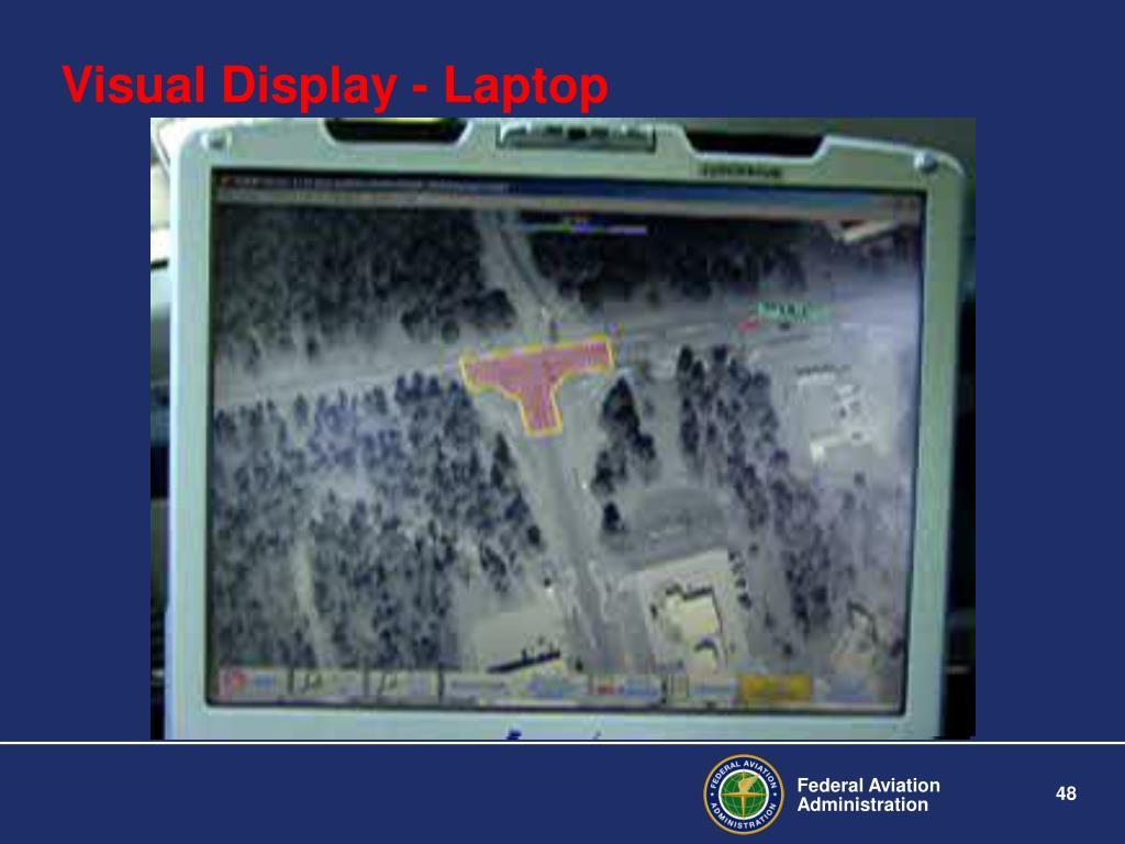 Visual Display - Laptop