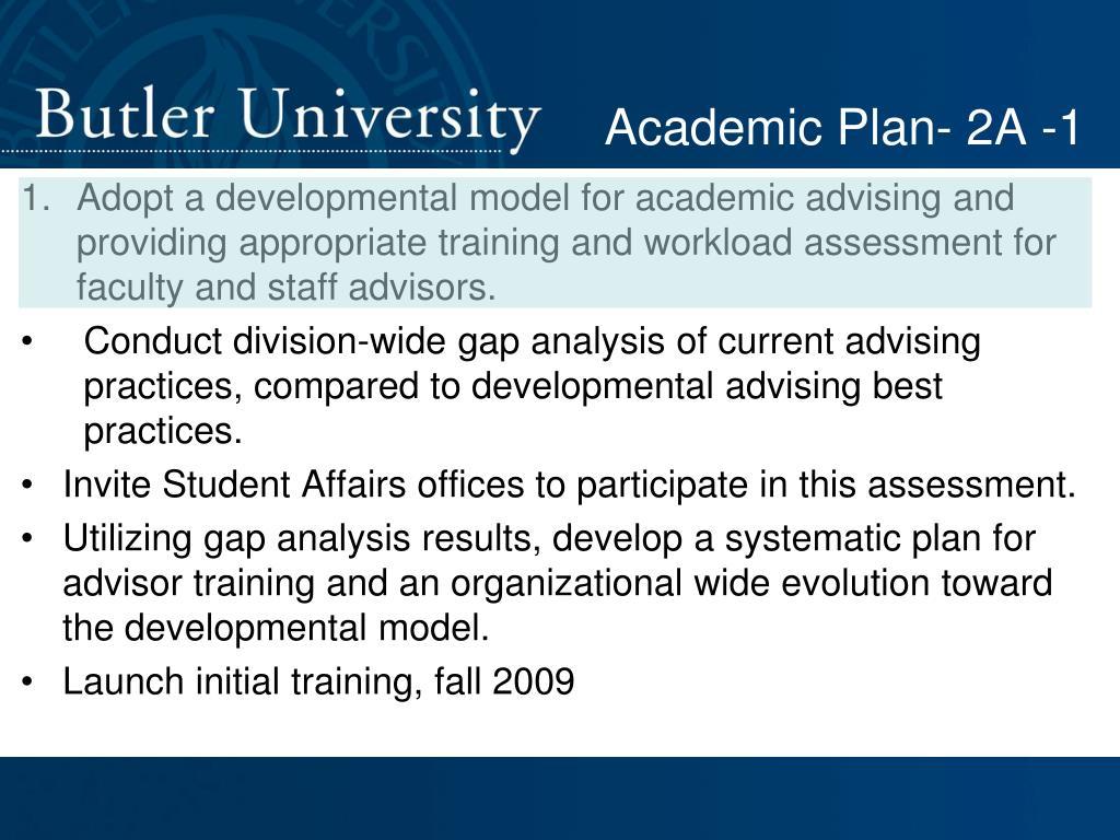 Academic Plan- 2A -1