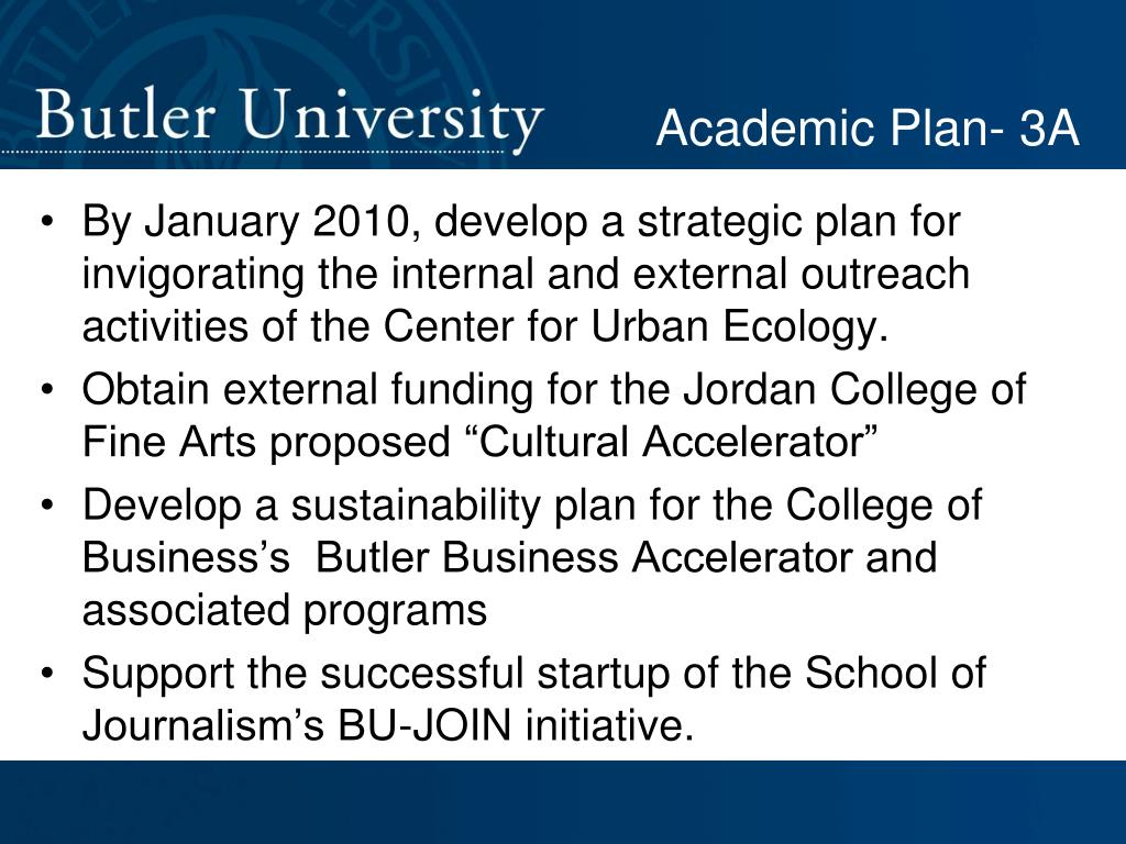 Academic Plan- 3A