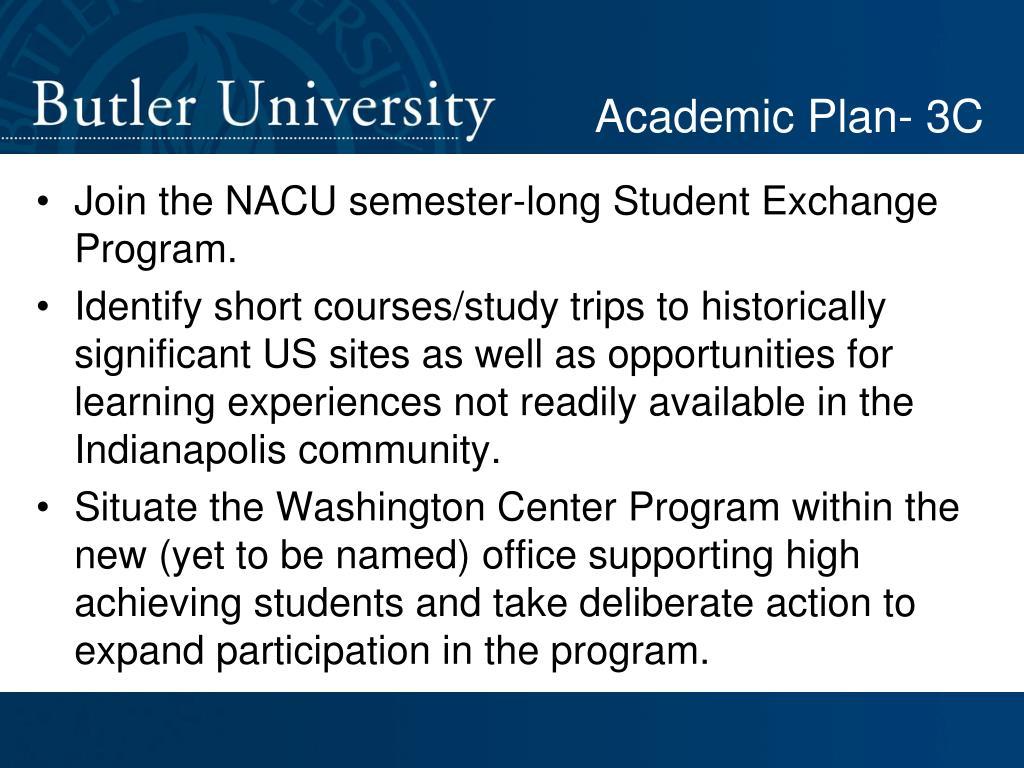 Academic Plan- 3C