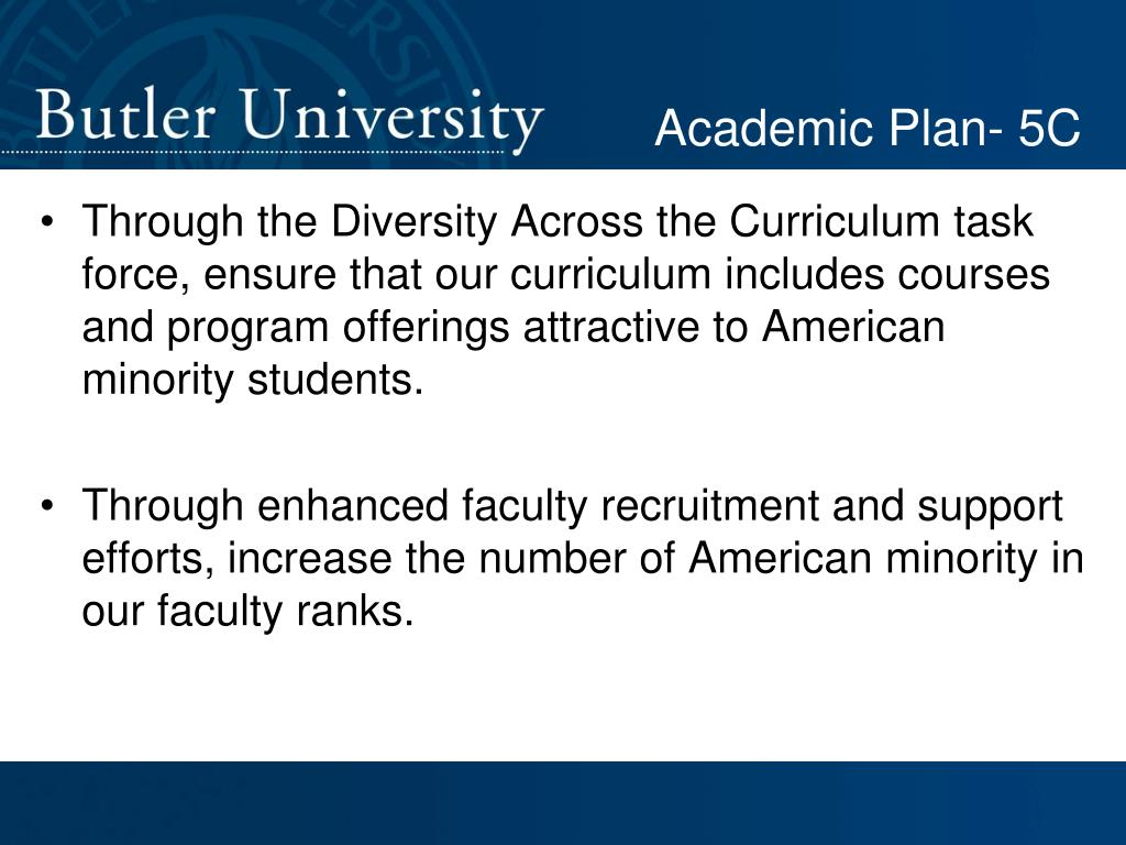 Academic Plan- 5C