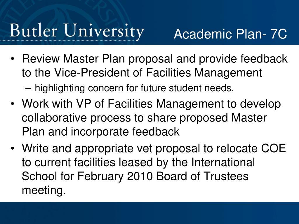 Academic Plan- 7C