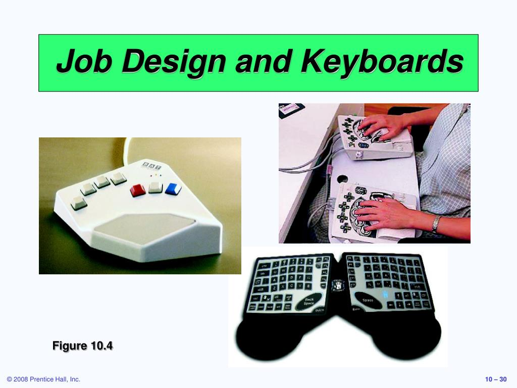 Job Design and Keyboards
