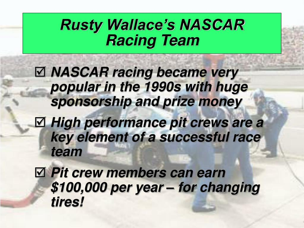 Rusty Wallace's NASCAR