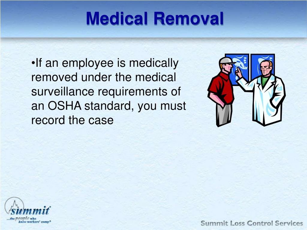 Medical Removal