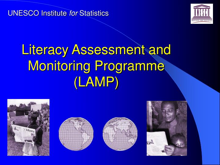 Literacy assessment and monitoring programme lamp
