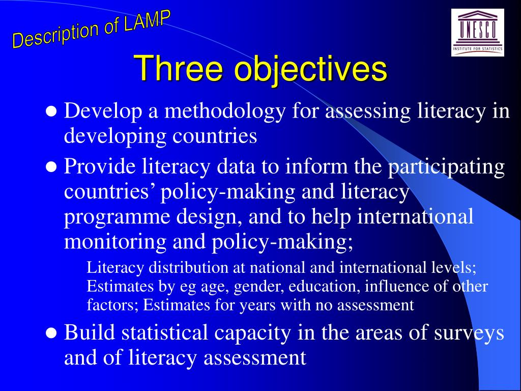 Description of LAMP