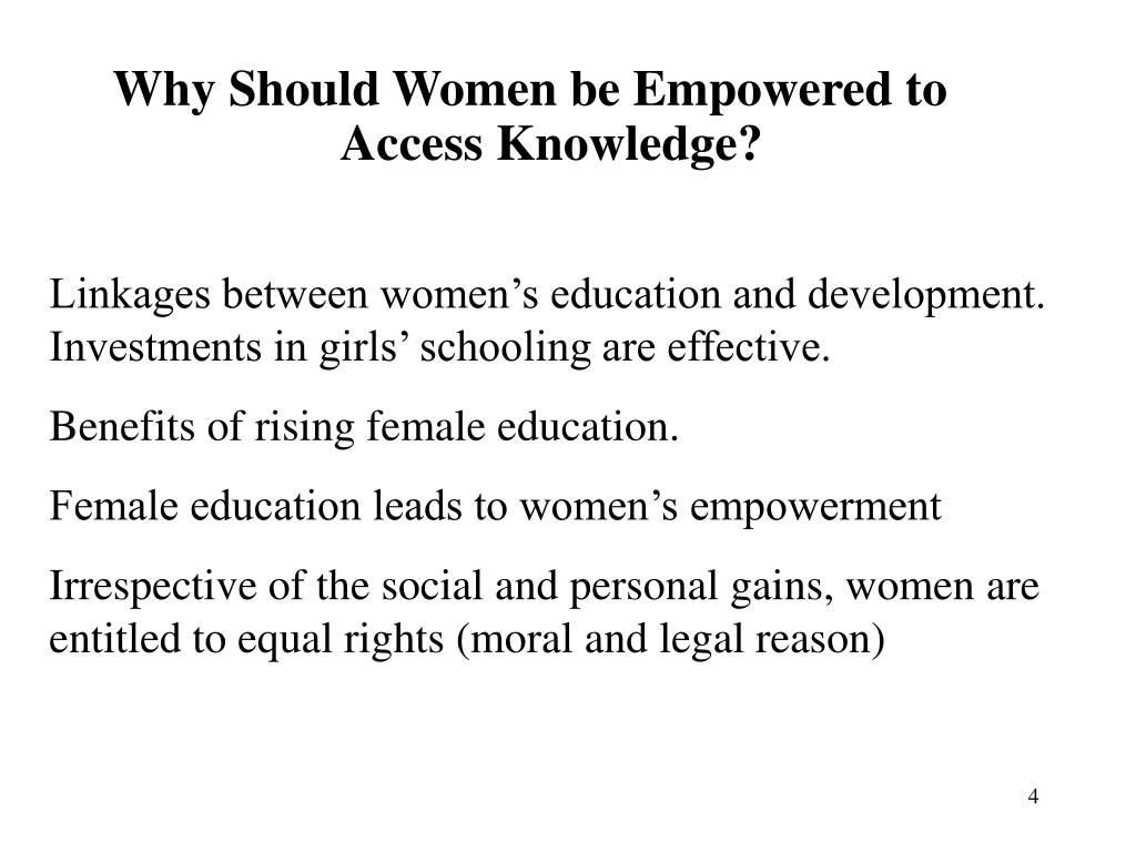 Linkages between women's education and development. Investments in girls' schooling are effective.