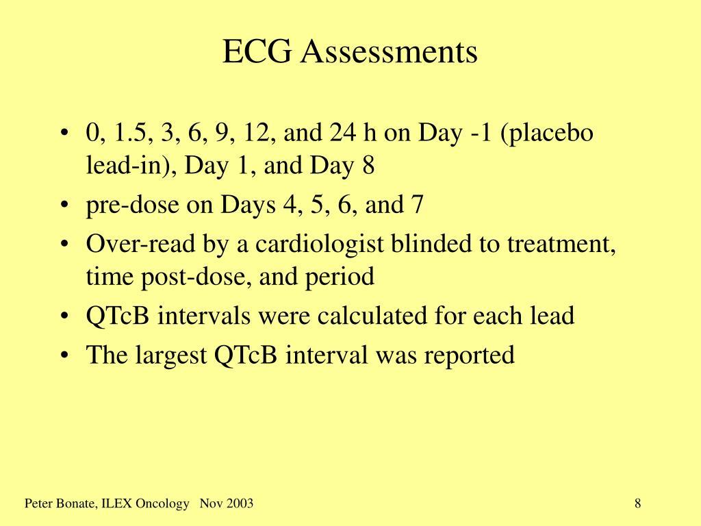 ECG Assessments