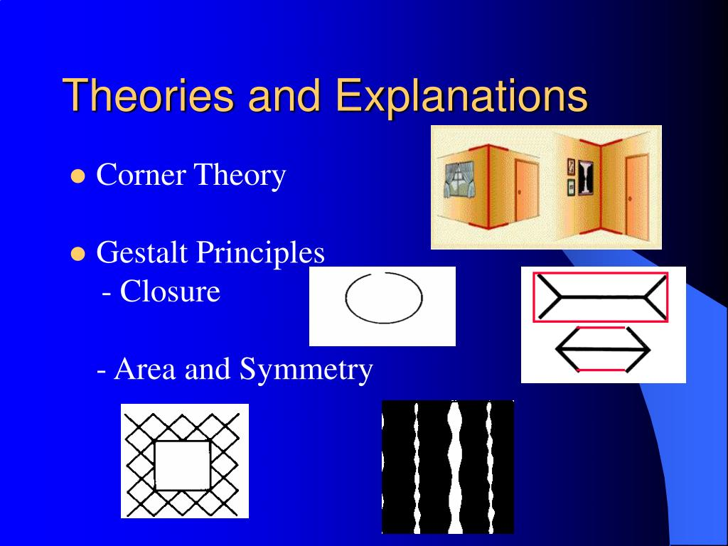 Theories and Explanations