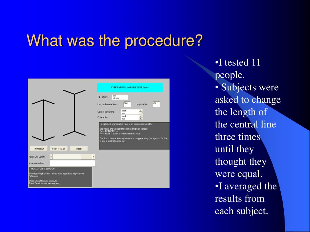 What was the procedure?