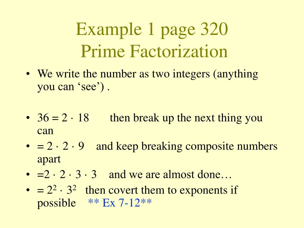 Example 1 page 320