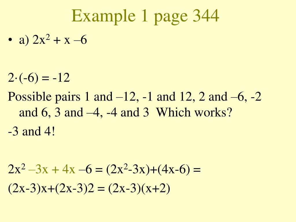 Example 1 page 344