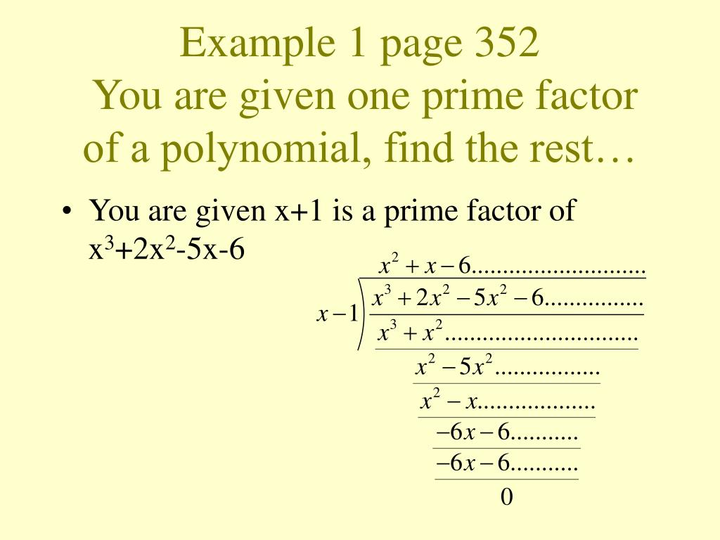 Example 1 page 352