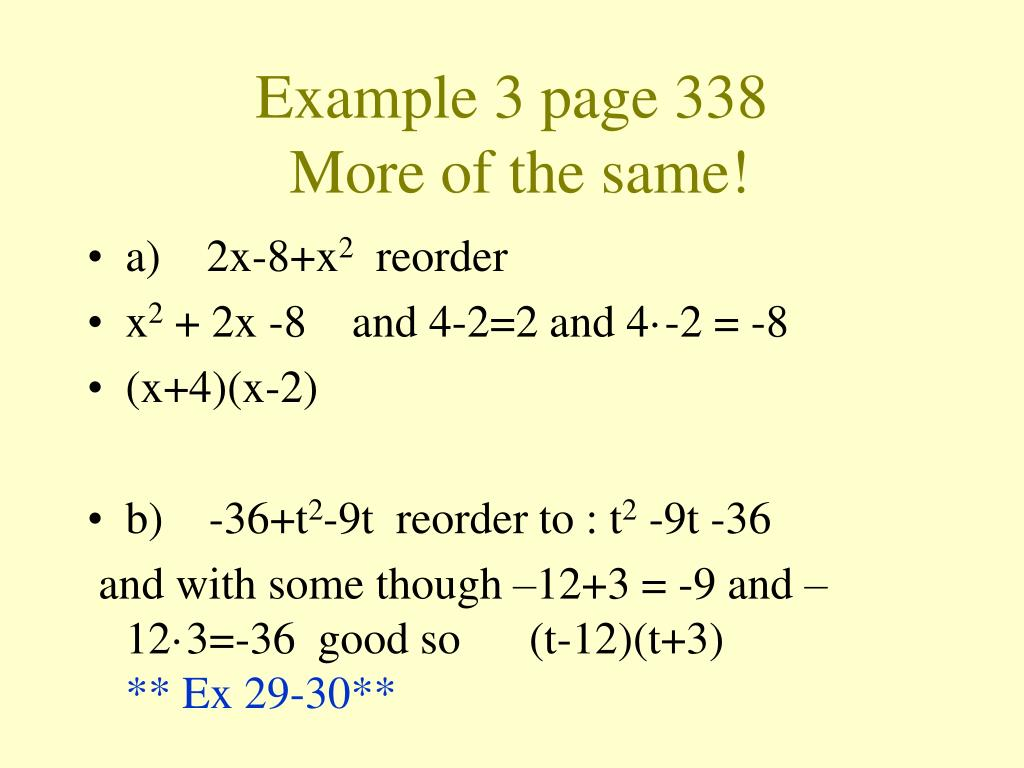 Example 3 page 338