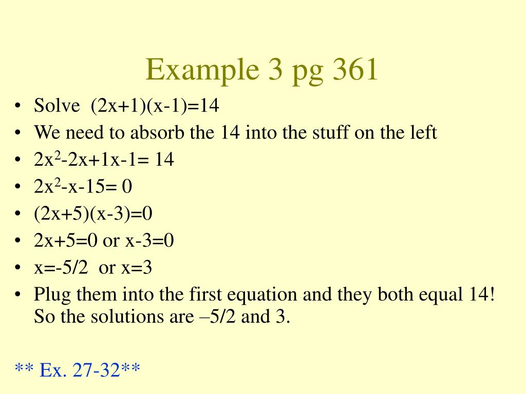 Example 3 pg 361