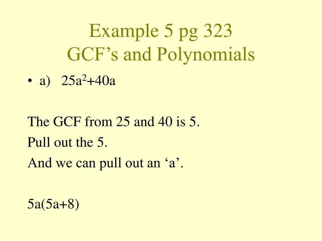 Example 5 pg 323