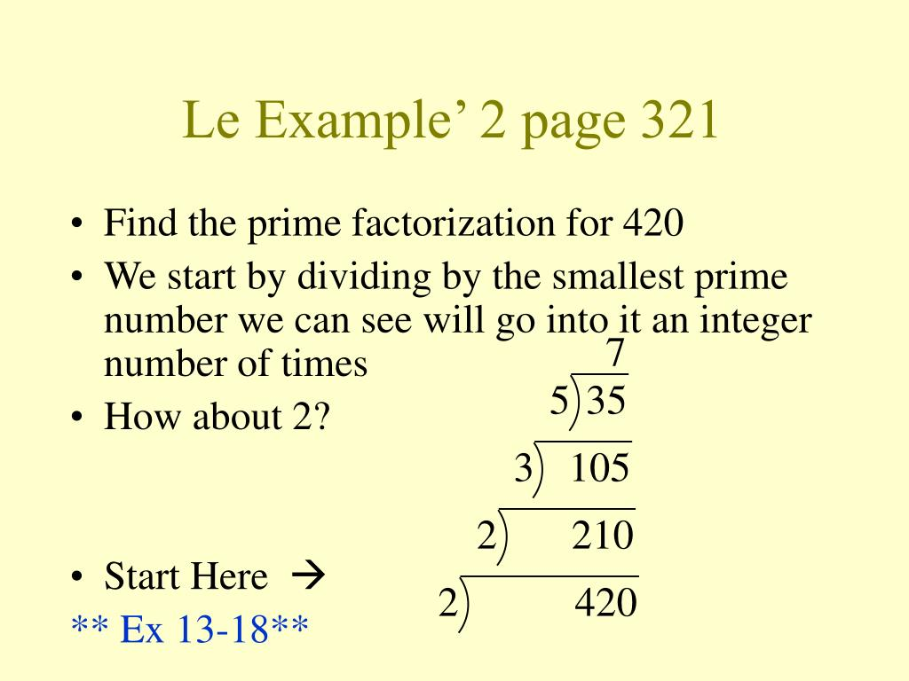 Le Example' 2 page 321