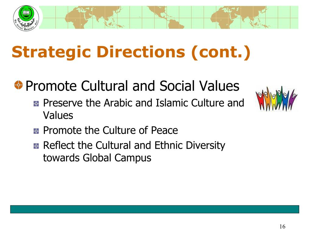 Strategic Directions (cont.)
