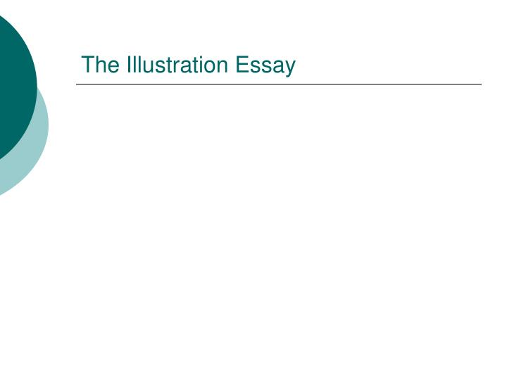 illustration essay outline