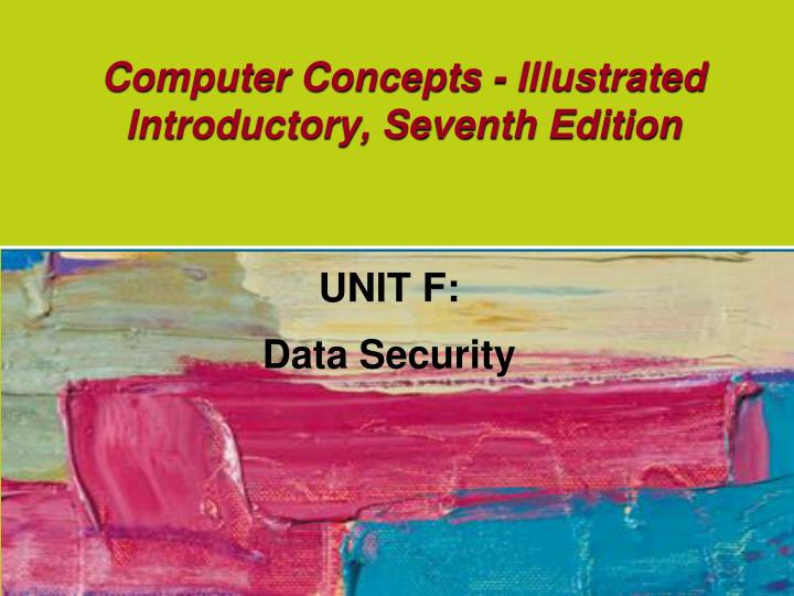 Computer concepts illustrated introductory seventh edition