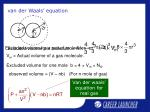 van der waals equation15