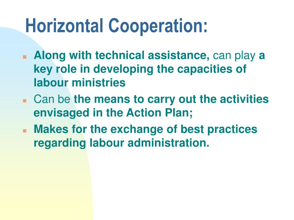 Horizontal Cooperation: