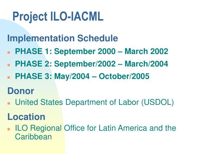 Project ilo iacml