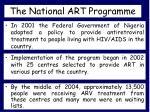 the national art programme