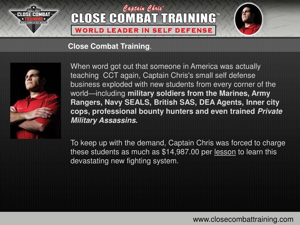 PPT - Captain Chris Close Combat Training - Self Defense
