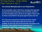 the age chasm drake white paper volume 2 no 5