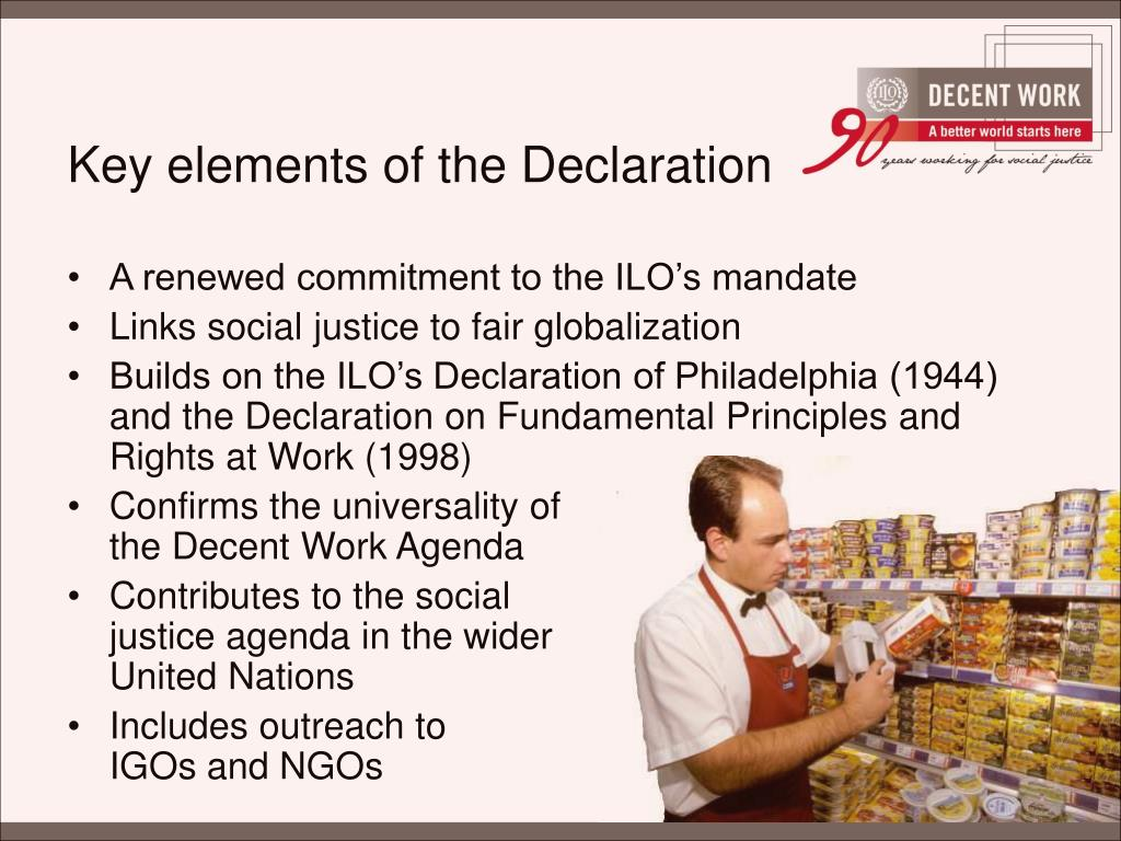 Key elements of the Declaration