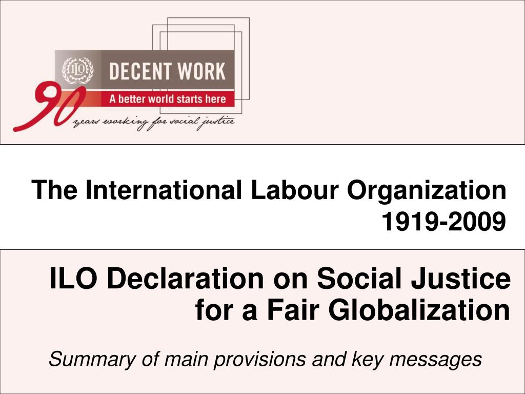 The International Labour Organization