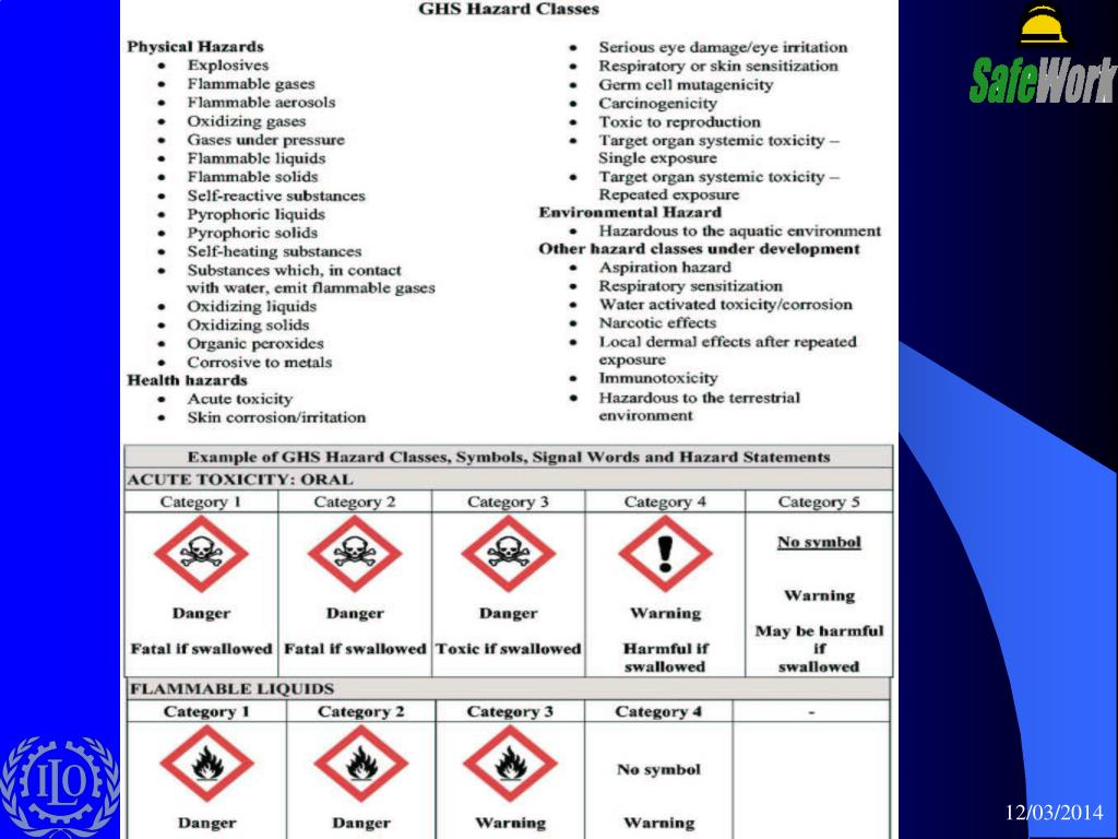 PPT - ILO activities in the field of chemical safety PowerPoint