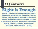 11 answer