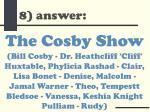 8 answer