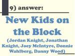 9 answer