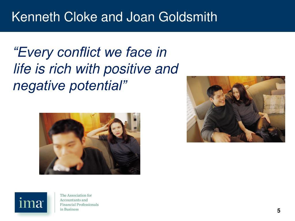 Kenneth Cloke and Joan Goldsmith